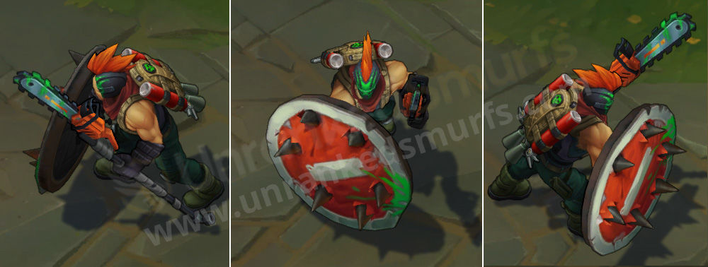 Slayer Pantheon League of Legends Skin