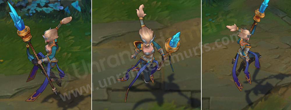 Victorious Janna League of Legends Skin