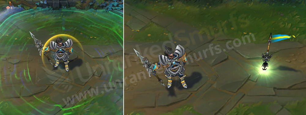 Victorious Jarvan IV League of Legends Skin