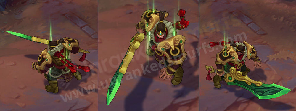 Warring Kingdoms Garen League of Legends Skin