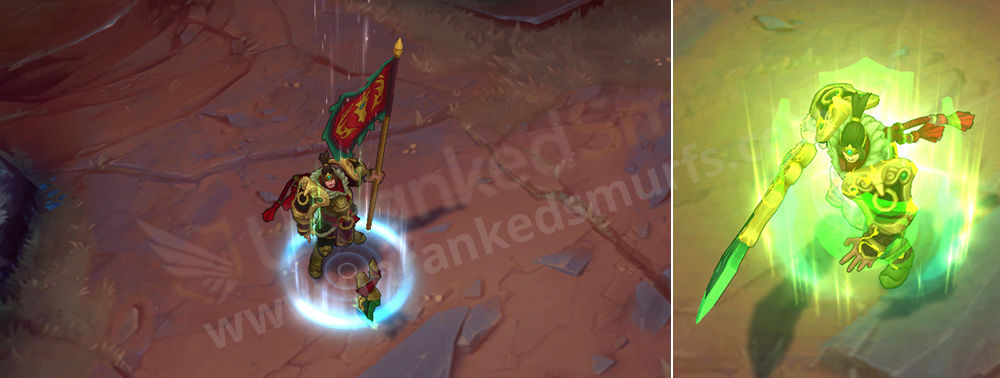 Warring Kingdoms Garen Shield