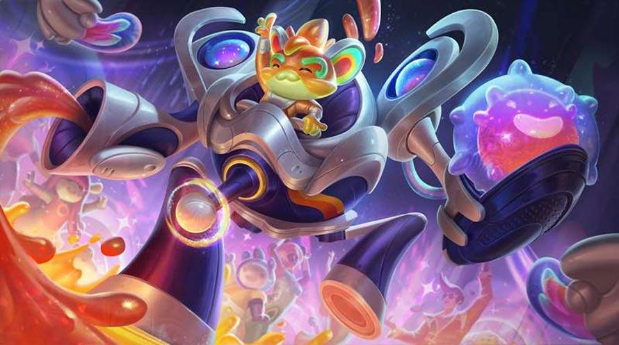 Space Groove Rumble splash art
